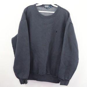 Vintage Ralph Lauren Crewneck Sweatshirt Blue M